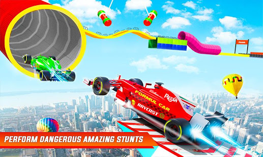 Formula Car Stunts Impossible Tracks Racing Game v29 screenshots 2