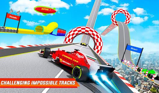 Formula Car Stunts Impossible Tracks Racing Game v29 screenshots 9