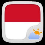 Free Download Bahasa Indonesian GO WeatherEX 1.1 APK