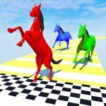 Free Download Horse Run Colours: Fun Race 3D Games 3.33 APK