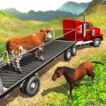 Free Download Offroad Farm Animal Truck Driving Game 2020 1.9 APK