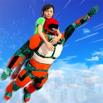 Free Download US Light Robot  Speed Hero :City Rescue Mission 1.0.21 APK