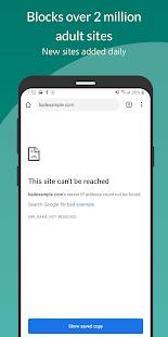 Free Porn Filter Blocker v1.8.1 screenshots 1