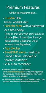 Free Porn Filter Blocker v1.8.1 screenshots 6
