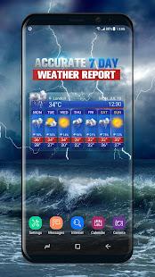 Free Weather Forecast App Widget v16.6.0.6365_50186 screenshots 1