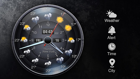 Free Weather Forecast App Widget v16.6.0.6365_50186 screenshots 14