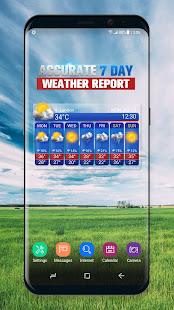 Free Weather Forecast App Widget v16.6.0.6365_50186 screenshots 2