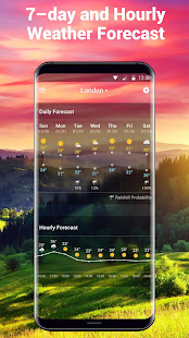 Free Weather Forecast App Widget v16.6.0.6365_50186 screenshots 5
