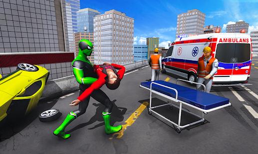 Frog Ninja Hero Gangster Vegas Superhero Games v1.2 screenshots 1