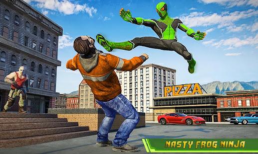 Frog Ninja Hero Gangster Vegas Superhero Games v1.2 screenshots 3
