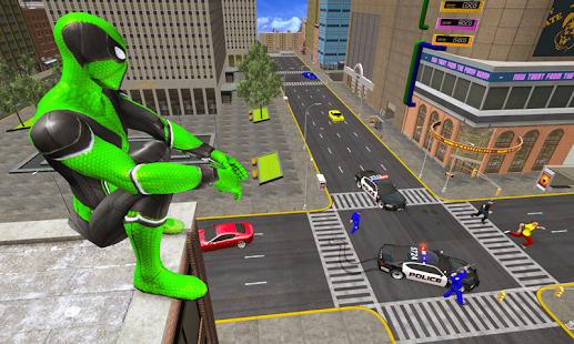 Frog Ninja Hero Gangster Vegas Superhero Games v1.2 screenshots 4