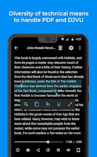 FullReader e-book reader v4.3 screenshots 4