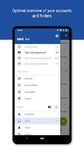 GMX – Mail amp Cloud v7.2.4 screenshots 2