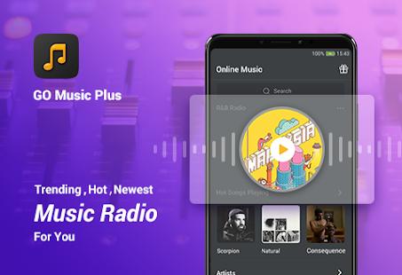 GO Music Player Plus – Free Music Radio MP3 v2.4.4 screenshots 1