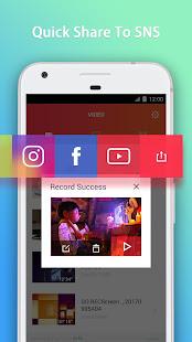 GO Recorder Screen Recorder Video Editor v2.00 screenshots 4