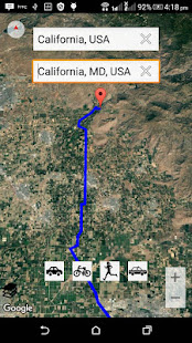 GPS Map Free v4.6.0-tk04 screenshots 4