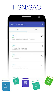 GST Connect – Rate amp HSN Finder GST Act amp Rules v19.1 screenshots 1