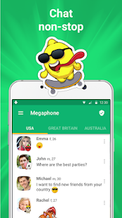 Get new friends on local chat rooms v4.7.8 screenshots 1