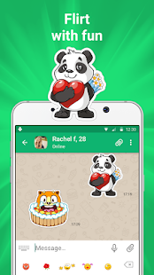 Get new friends on local chat rooms v4.7.8 screenshots 3