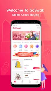 GoSwak – Online group buying v1.3.5 screenshots 1
