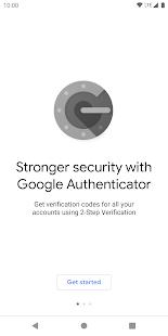Google Authenticator v5.10 screenshots 1