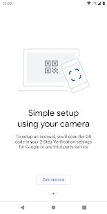 Google Authenticator v5.10 screenshots 2