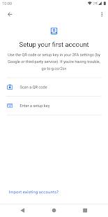 Google Authenticator v5.10 screenshots 4