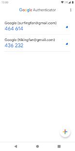 Google Authenticator v5.10 screenshots 5