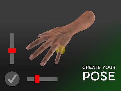 Hand Draw 3D Pose Tool FREE v2.18 screenshots 1