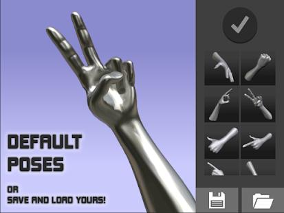 Hand Draw 3D Pose Tool FREE v2.18 screenshots 12