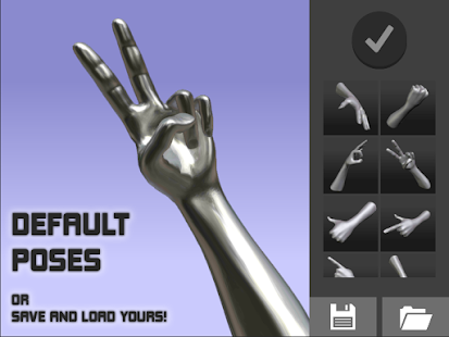 Hand Draw 3D Pose Tool FREE v2.18 screenshots 5