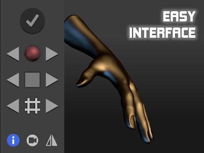 Hand Draw 3D Pose Tool FREE v2.18 screenshots 6
