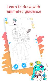 How to draw anime amp manga with tutorial – DrawShow v5.1.0.3 screenshots 3