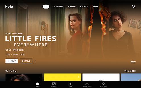 Hulu Watch TV shows movies amp new original series v4.31.07142-google screenshots 10