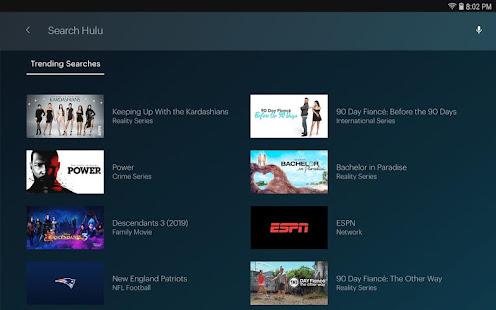 Hulu Watch TV shows movies amp new original series v4.31.07142-google screenshots 12