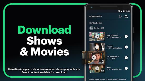 Hulu Watch TV shows movies amp new original series v4.31.07142-google screenshots 3