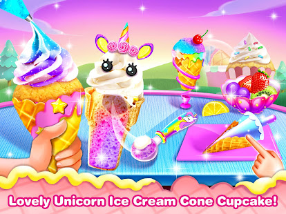 Ice Cream Cone Cupcake-Cupcake Mania v1.8 screenshots 1