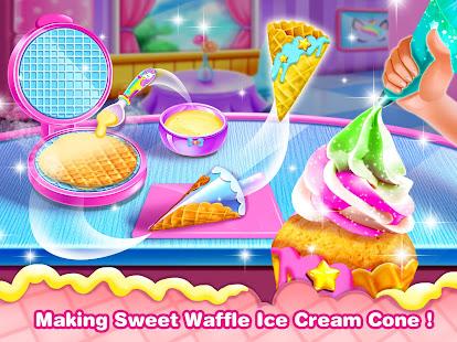 Ice Cream Cone Cupcake-Cupcake Mania v1.8 screenshots 3