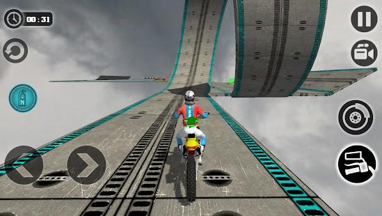 Impossible Motor Bike Tracks New Motor Bike v1.2 screenshots 1