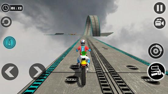 Impossible Motor Bike Tracks New Motor Bike v1.2 screenshots 6