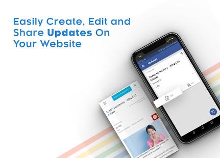Instant Website Builder Websites.co.in App v2.73 screenshots 11