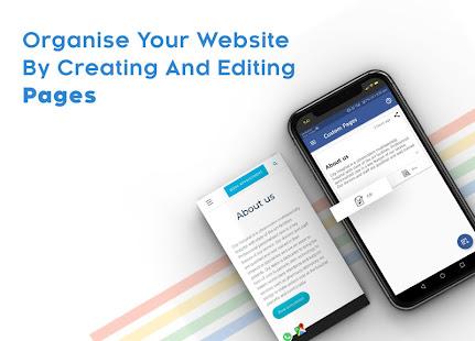 Instant Website Builder Websites.co.in App v2.73 screenshots 12
