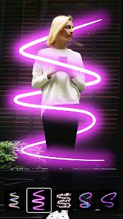 Instasquare Photo Editor Drip Art Neon Line Art v2.5.6.0 screenshots 4