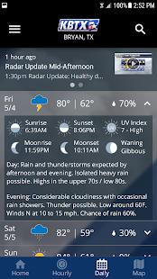 KBTX PinPoint Weather v5.3.707 screenshots 5