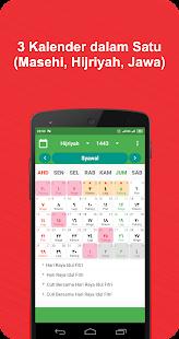 Kalender Indonesia dan Jadwal Sholat v1.0.0 screenshots 2