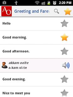 Learn Afaan Oromo v1.0 screenshots 2