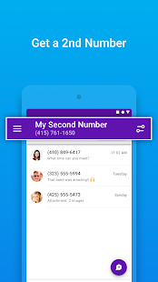 Legacy Version Unlisted – Second Phone Number v1.10.3 screenshots 7
