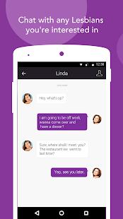 Lesly Lesbian Dating amp Chat v1.5.5 screenshots 4