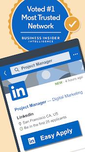 LinkedIn Jobs Business News amp Social Networking v4.1.601 screenshots 1