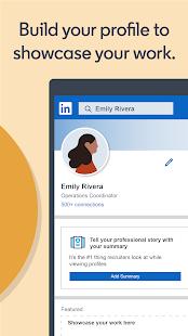 LinkedIn Jobs Business News amp Social Networking v4.1.601 screenshots 5